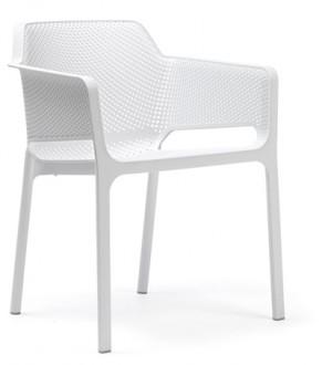 Wygodne krzesło do kawiarni z polipropylenu Net