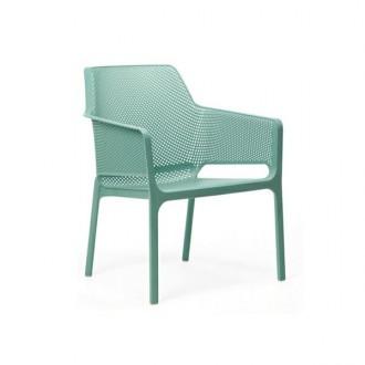 Komfortowe krzesło z polipropylenu Net Relax