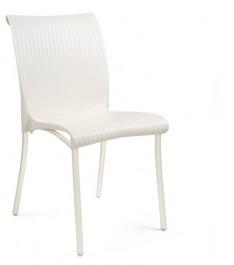 Krzesło do kawiarni na metalowych nogach Regina