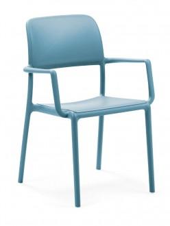Krzesło kawiarniane Riva z podłokietnikami