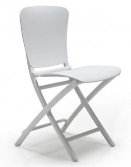 Składane krzesło z polipropylenu Zac