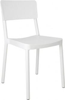 Krzesło do kawiarni Lisboa bez podłokietników