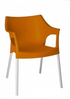Krzesło kawiarniane z podłokietnikami Pole