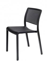 Krzesło do kawiarni i ogrodu bez podłokietników Trama