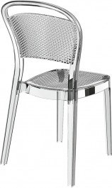 Designerskie krzesło z tworzywa sztucznego Visual