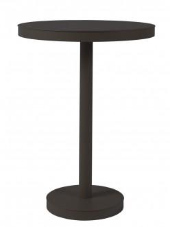 Wysoki stolik barowy z metalu Barcino 60