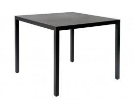 Kwadratowy stół do kawiarni na czterech nogach Barcino