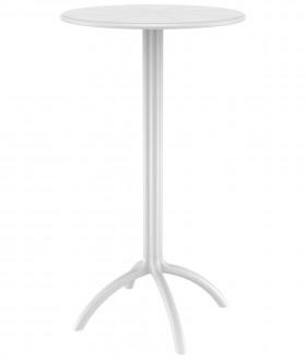 Wysoki stolik barowy na jednej nodze Octopus H60