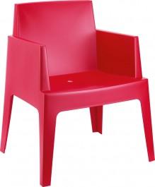 Krzesło do kawiarni i ogrodu z polipropylenu Box