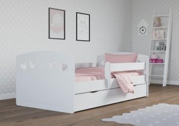 Łóżko do pokoju dziewczynki Julia z materacem