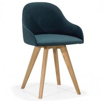 Krzesło z tapicerowanym siedziskiem Perla NDS