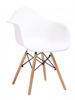 Krzesło do jadalni na bukowych nogach Daw DSW