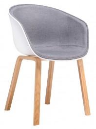 Krzesło z tapicerowanym siedziskiem Stay