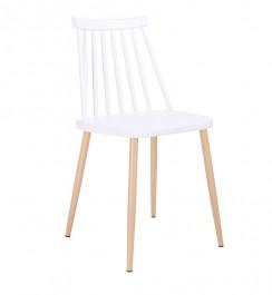 Nowoczesne krzesło bez podłokietników Ribs
