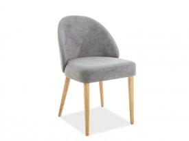 Tapicerowane krzesło bez podłokietników Oxi