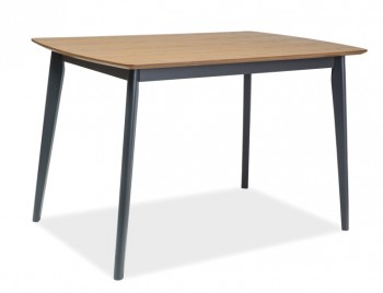 Nierozkładany stół na drewnianych nogach Vitro