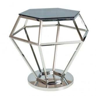 Designerski stolik kawowy w kształcie diamentu Rolex