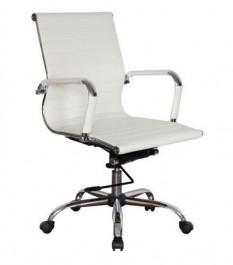 Krzesło biurowe z ekoskóry Q-124