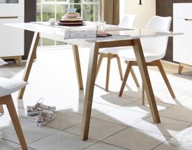 Nierozkładany stół Malmo 180 w stylu skandynawskim