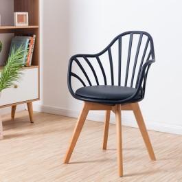 Krzesło Albert Arm na bukowych nogach