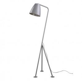 Metalowa lampa podłogowa Omega szara