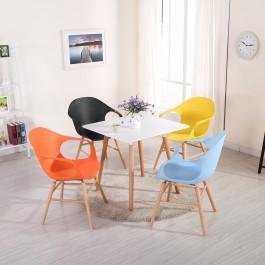 Kwadratowy stół w stylu skandynawskim Consul