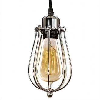 Industrialna lampa wisząca Kopenhagen Loft Chrom