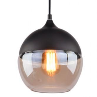 Wisząca lampa Manhattan Chic 1 czarna