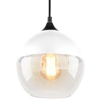 Wisząca lampa Manhattan Chic 1 biała