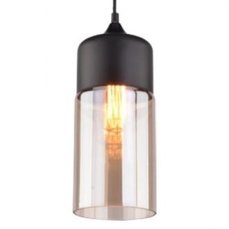 Wisząca lampa Manhattan Chic 4 czarna