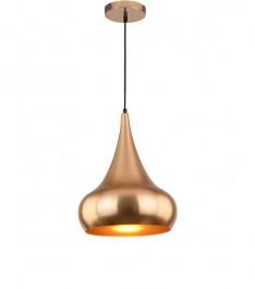 Metaliczna lampa wisząca Mid-century Glam 4