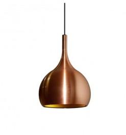 Metaliczna lampa wisząca Mid-century Glam 3