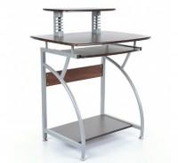 Biurka z półką pod klawiaturę