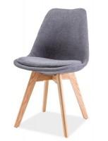 Krzesła na drewnianych nogach