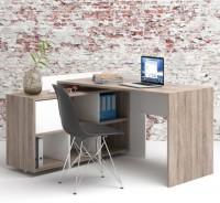 Biurka z regałem