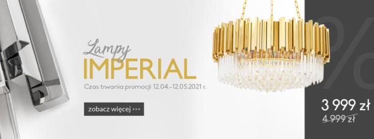 Promocja na lampy Imperial