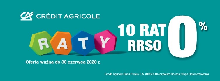 Credit Agricole Raty 0%