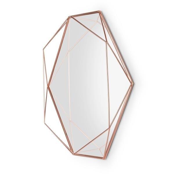 Geometryczne lustro ścienne Prisma