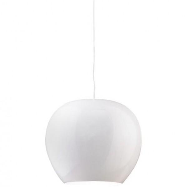 Lampa sufitowa z połyskującym kloszem Manzana