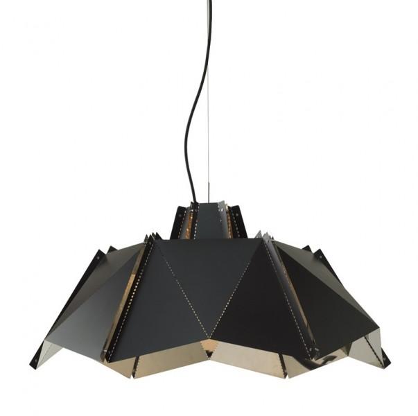 Designerska lampa sufitowa z metalu Origami 45