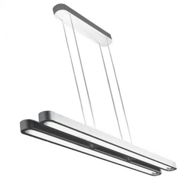 Aluminiowa lampa sufitowa Taleo Duo