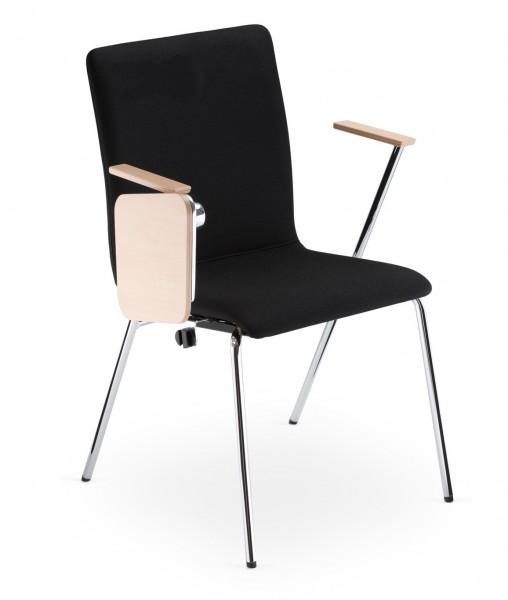 Krzesło konferencyjne z pulpitem Fen 4L ARM TRA
