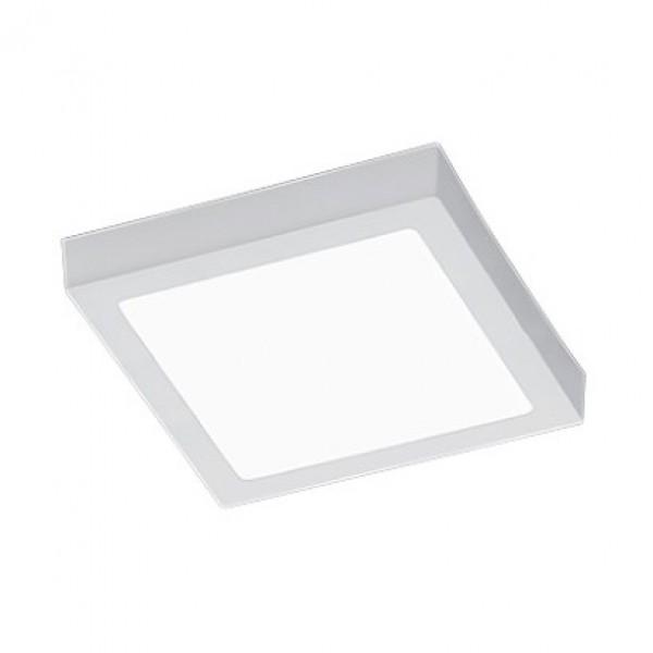 Biały plafon kwadratowy LED Zeus 40 ze ściemniaczem