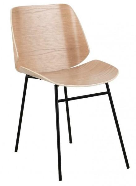 Sklejkowe krzesło bez podłokietników Aks 190