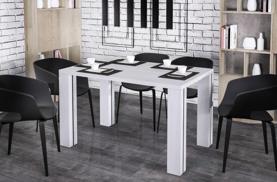Stół Nisa 170 z blatem 80x80 rozkładany do 170 cm