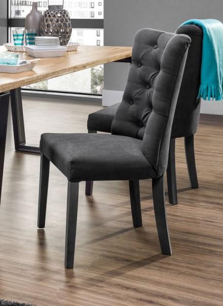 Modernistyczne Pikowane krzesło Vanity - Krzesła do jadalni - Kupmeble.pl GO25