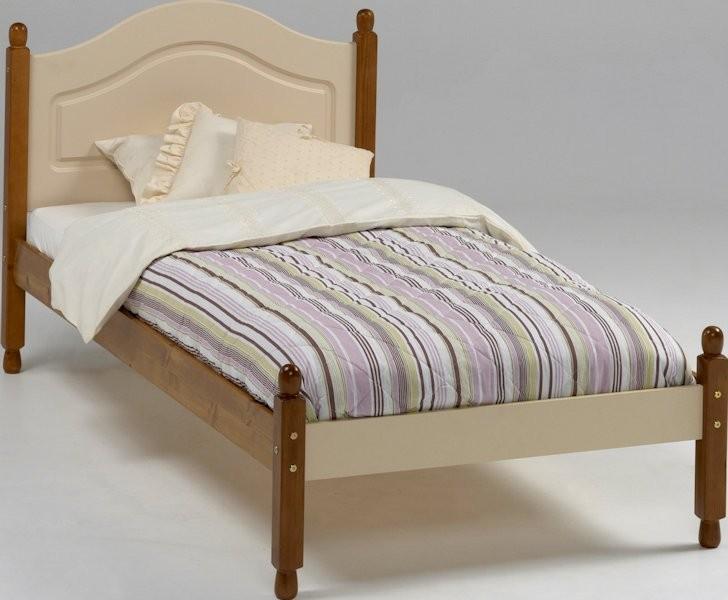 Łóżko Richmond 90 kolor kremowy