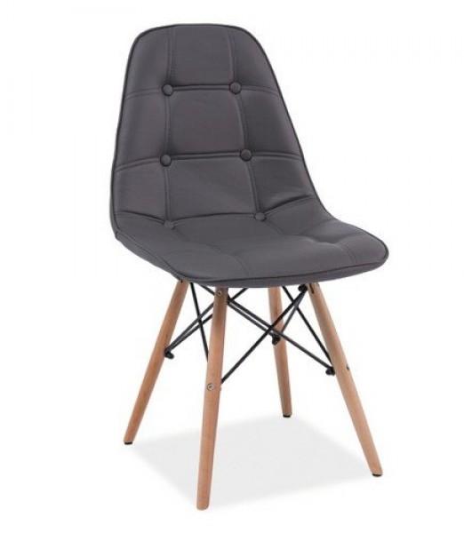 Zaktualizowano Krzesło tapicerowane na drewnianych nogach Axel - Krzesła do MI34