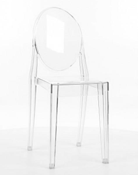 Niesamowite Transparentne krzesło z poliwęglanu Martin - Krzesła do jadalni GK06