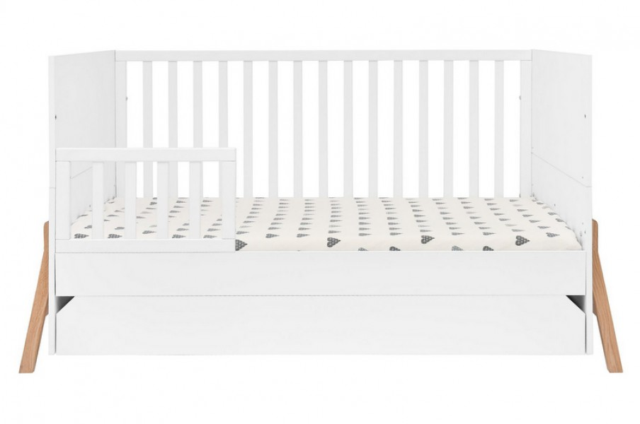 Łóżeczko dziecięce 70x140 Lotta z funkcją tapczanika